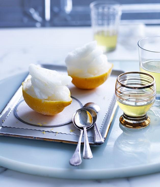 Lemon sorbetto recipe :: Gourmet Traveller