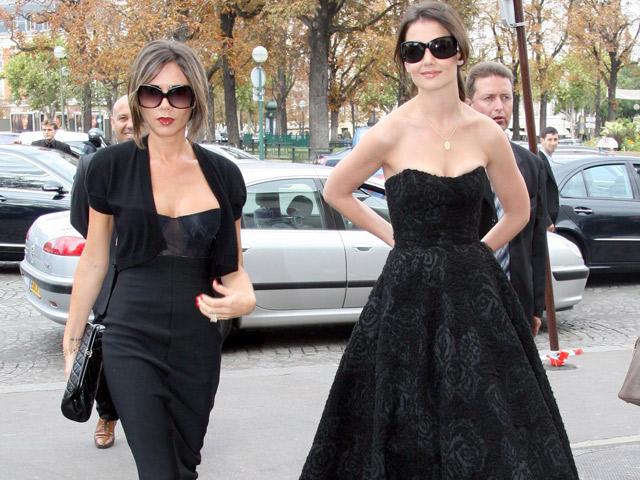 Katie Holmes joins Victoria Beckham for New York Fashion ...
