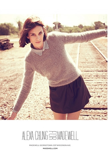 Watch: Alexa Chung models her second collection for ...