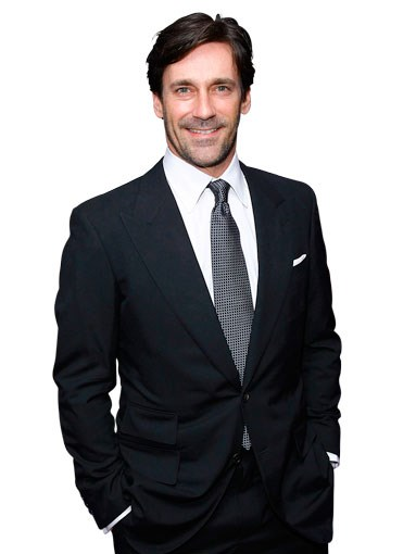ACTORS: 20. Jon Hamm. If he's looking to shuck the suffocating flannel suit of the Don Draper character which made his name, he's on the right track with roles in heist drama The Town and incoming comedy Bridesmaids. We know the dude can brood, but we predict a lot more to come. – TL