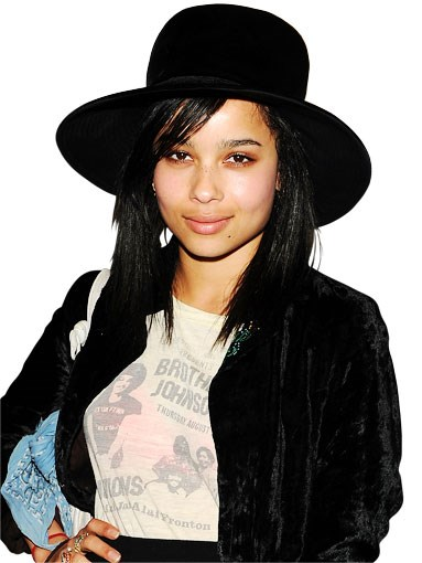 NEXT-GEN ROCK ROYALTY: 97. Zoë Kravitz. Triple-threat Kravitz has modelling, acting and singing credits tucked firmly under her vintage belt. The 22-year-old daughter of Lenny Kravitz, not content with being the face of Vera Wang's Princess fragrance, is tipped to star in Max Max 4 (Fury Road). The first of many big projects for 2011, we predict. – SD