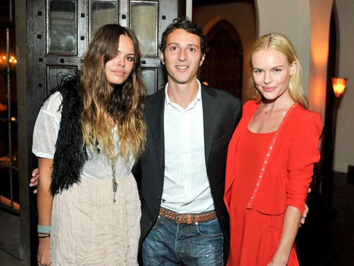 Atlanta de Cadenet, Gary Suid and Kate Bosworth