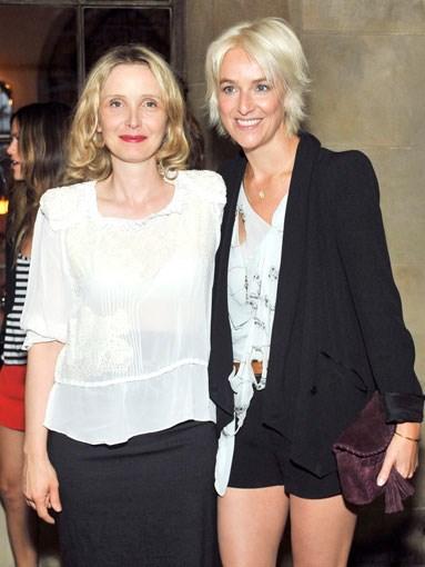 Julie Delpy and Vanessa Bruno