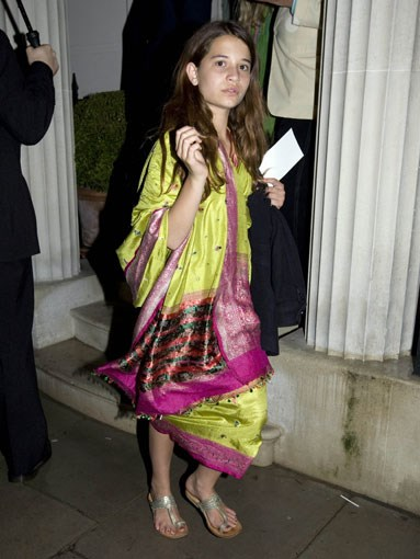 Heavenly Hiraani Tiger Lily Hutchence Geldof, daughter of Michael Hutchence and Paula Yates.