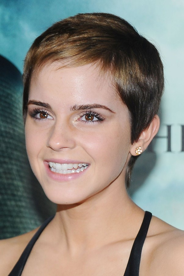 "<strong>The pixie cut</strong>: ""Pixie haircuts suit most face shapes, in particular oval and heart shapes,"" says Edwards.  ""Ladies with thick, curly or coarse hair, avoid pixie cuts."""