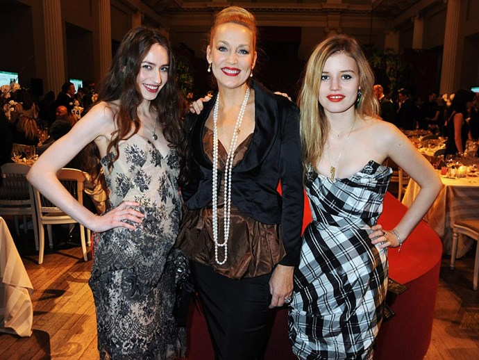 <br><br><strong>Georgia May Jagger</strong> <br><br><em>Model</em> <br><br>'My sister Lizzie and I have inherited our mum's [Jerry Hall] love of a red lip – all three of us wear it as our fail-safe evening look. A good tip I picked up is to put some clear lip balm on your teeth to stop the lipstick coming off on them.'