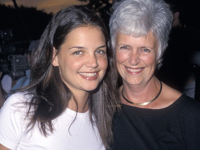 """<br><br><strong>Katie Holmes</strong> <br><br><em>Actor</em> <br><br>""""My mum is big on being healthy and eating well because, as she says, 'It always shows up'. On a practical level, she always told me not to use soap on my face. She's very beautiful and just throws some makeup on - it's never a big deal."""""""
