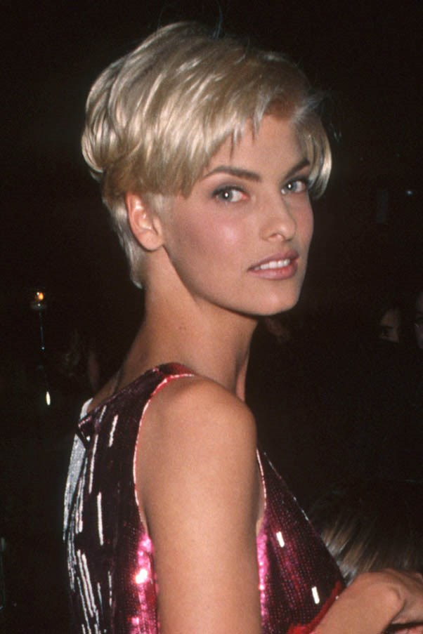 <strong>Linda Evangelista</strong> <br><br>The ultimate hair chameleon, this longtime muse of Steven Miesel has experimented with every variation of colour and pixie-crop.