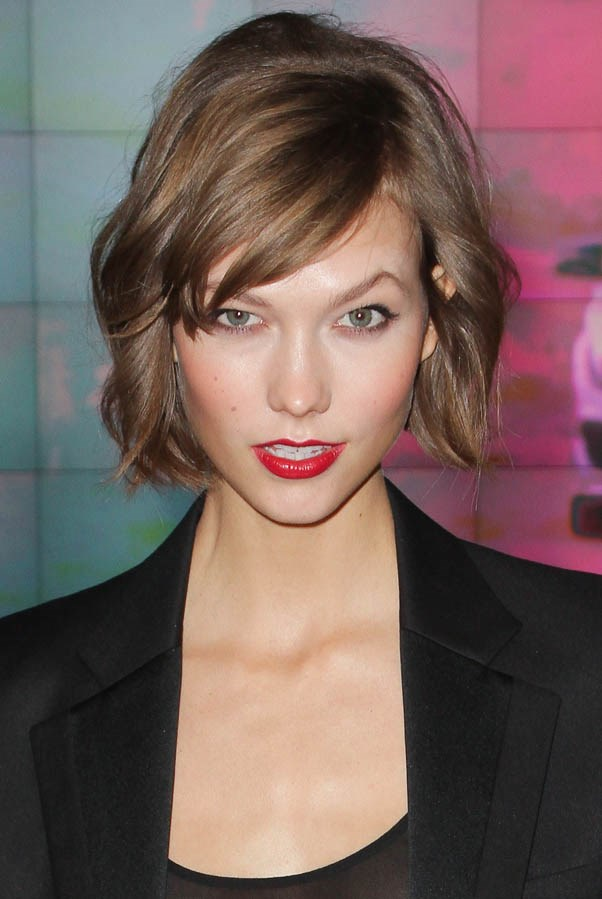 <strong>Karlie Kloss</strong> <br><br>...before famously chopping it all off, just days before her first Victoria's Secret runway show.