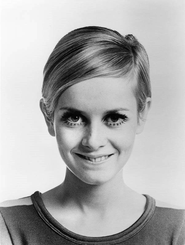 """<strong>Twiggy</strong> <br><br>Lesley Lawson, the iconic British supermodel, rose to fame as """"Twiggy"""" with her signature look: pin-thin limbs, long eyelashes, and the pixie cut that's inspired a million imitations."""