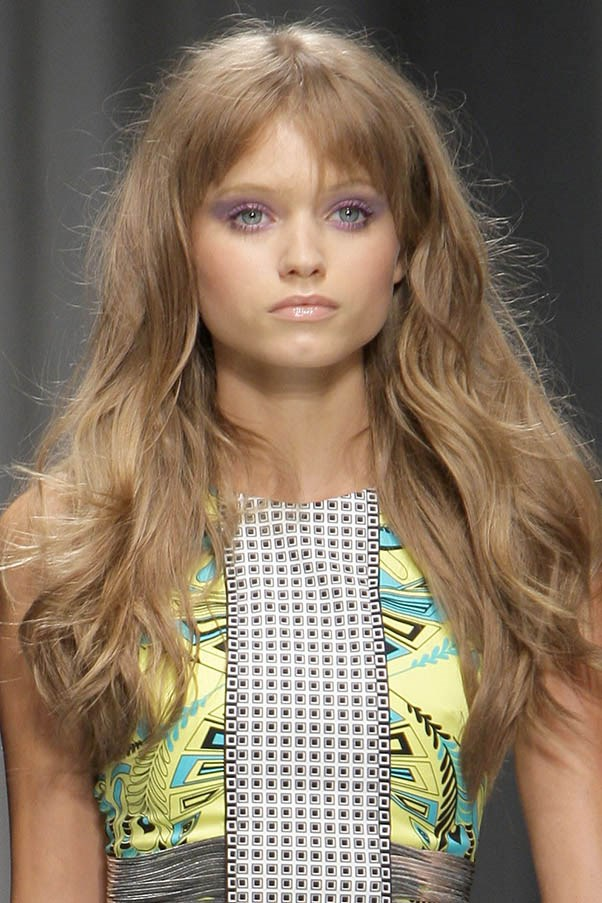 <strong>Abbey Lee Kershaw</strong> <br><br>The Melbourne-born model took to the international catwalks in 2008 with long, natural locks.
