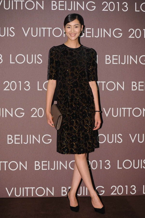 <strong>Liu Wen</strong> <br><br><strong>What she earned: </strong>$4.3 million <br><br><strong>How she earned it:</strong> China's first major supermodel has made it internationally, and has deals with H&M, Estee Lauder, Calvin Klein and Hugo Boss. <em><br><br>Pictured here at the Louis Vuitton store opening in Beijing, wearing Louis Vuitton. </em>