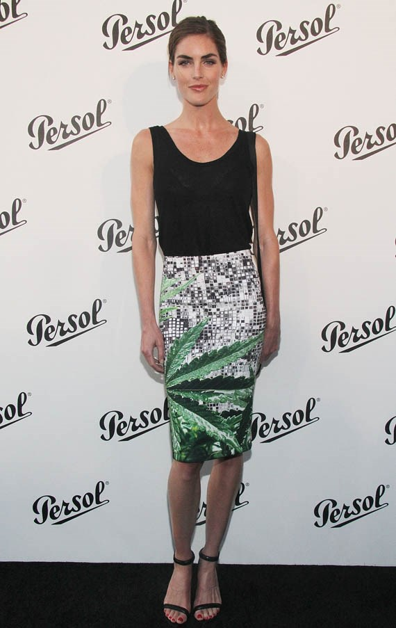 Rhoda attending the Baby Buggy Summer Dinner hosted by Jessica and Jerry Seinfeld and rag & bone, wearing rag & bone.