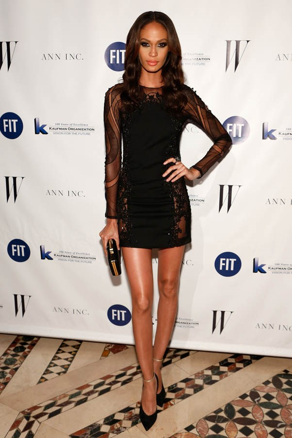 <strong>Joan Smalls</strong> <br><br><strong>What she earned:</strong> $3.5 million <br><br><strong>How she earned it: </strong>Smalls is the first Latina face of Estee Lauder, and has posed for Chanel, Lacoste, Calvin Klein Jeans and been on the cover of Vogue, Harper's Bazaar and GQ. <br><br><em>Pictured here at the 2013 Fashion Institute Of Technology And FIT Foundation Benefit Gala. </em>
