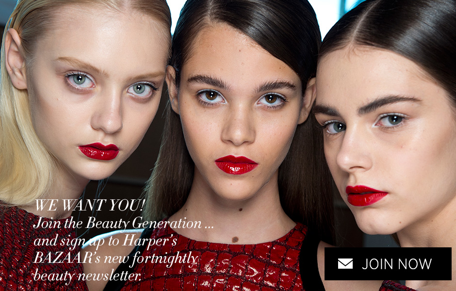 Join Harper's BAZAAR Beauty Generation newsletter