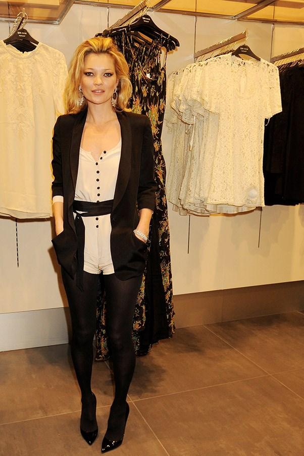 Kate Moss turns designer for Topshop again