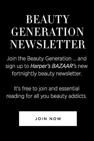 Join Harper's Bazaar's Beauty Generation newsletter