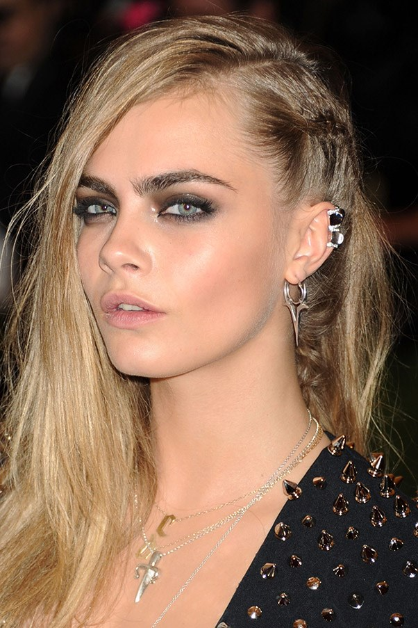 Celebrity piercings cara delevingne harper s bazaar