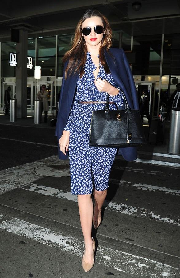 At JFK Airport in November 2013.