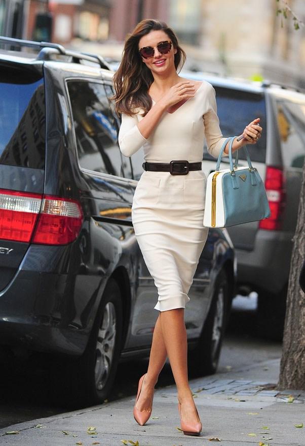 Effortlessly chic in New York, November 2012.
