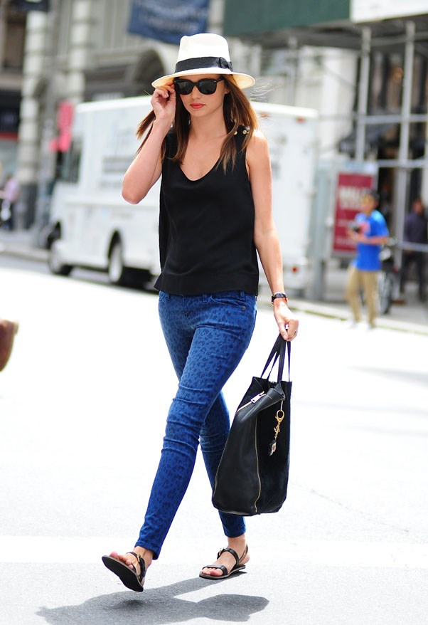 On the streets of New York in June 2013.