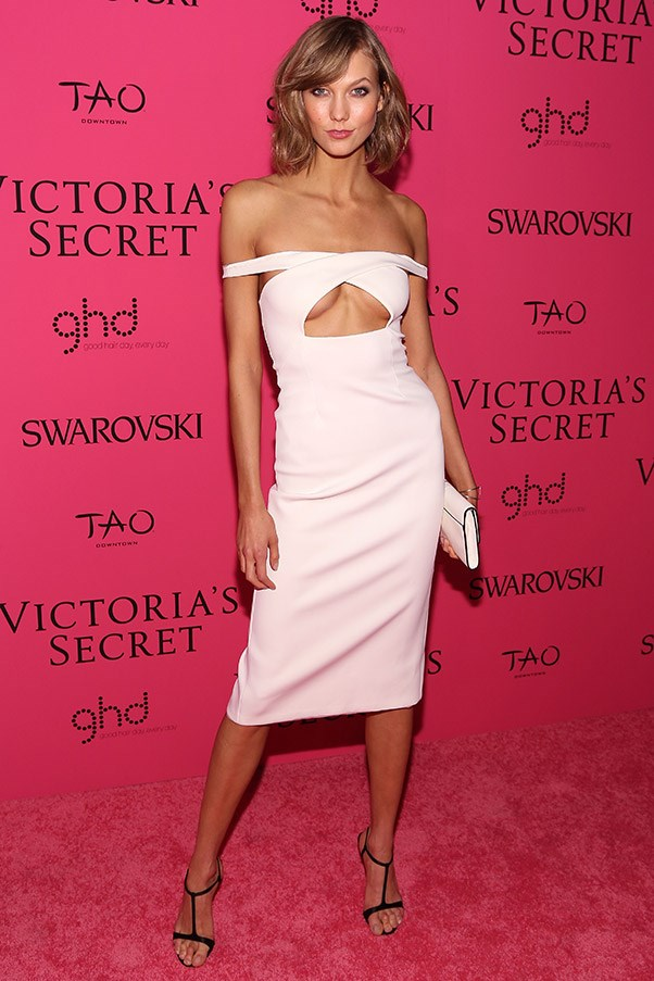 Karlie Kloss At the Victoria's Secret fashion show after-party