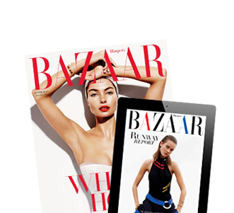 Harper's Bazaar June/July 2014 and Runway Report app