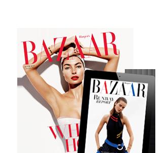 Harper's Bazaar June/July 2014 and Runway Report app