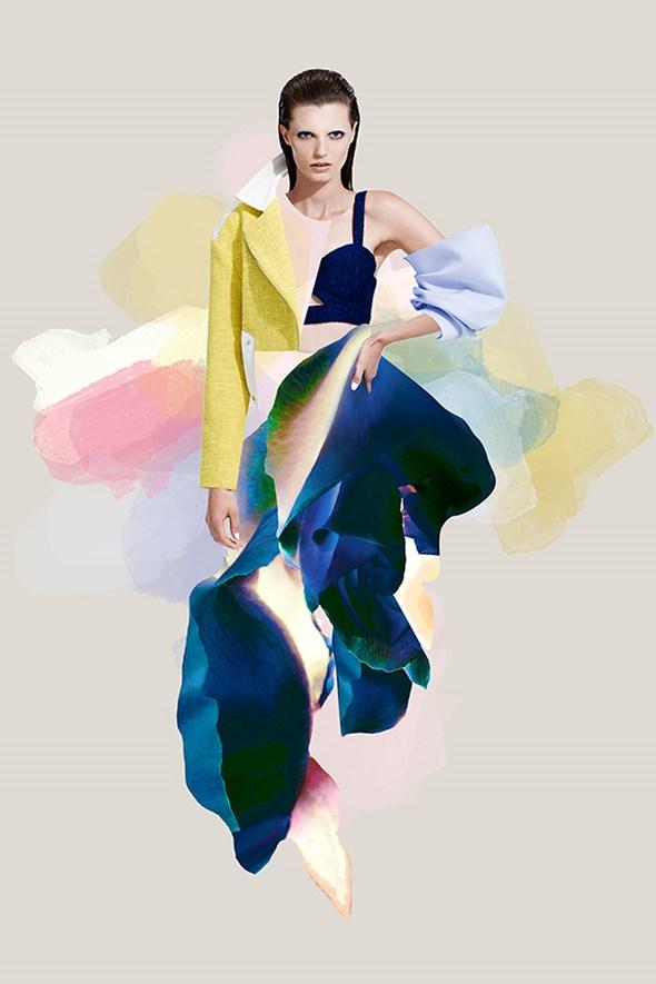 Fashion meets art for LifeWithBIRD : Harper's BAZAAR