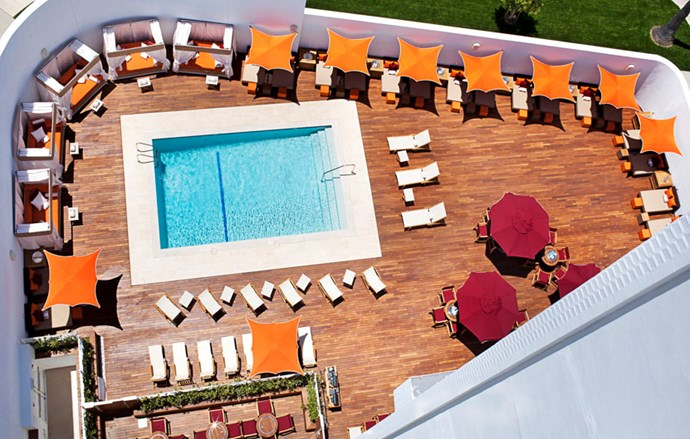 """<strong><a href=""""http://www.lhw.com/hotel/Mr-C-Beverly-Hills-Los-Angeles-CA"""">Mr. C</a>, Beverly Hills </strong> <br><br>For a hotel run by members of such an esteemed hospitality family — owners Maggio and Ignazio Ciprianis' great-grandfather Giuseppe started the legendary Harry's Bar in Venice — with a location in LA's monied and movied heartland (it's on the border of Century City, the original backlot of 20th Century Fox), Mr. C is a surprisingly understated option."""