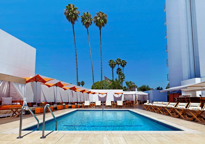"""<strong><a href=""""http://www.lhw.com/hotel/Mr-C-Beverly-Hills-Los-Angeles-CA"""">Mr. C</a>, Beverly Hills </strong> <br><br>Mr. C's special gift is to provide an oasis within the eye of the LA hubbub. The hotel's complimentary town-car service can get you to the nearby Beverly Center or the Fred Segal on Melrose. But it's just as tempting to book one of the hotel's poolside cabanas — the teak-framed pool is Old Hollywood cool — and order from the Cipriani classics on the menu: you can't really go wrong with carpaccio, burrata and taggiasca olives, and more of those bellinis. <br><em>- Frances Hibbard</em> <br><br><a href=""""http://www.lhw.com/hotel/Mr-C-Beverly-Hills-Los-Angeles-CA"""">lhw.com/hotel/Mr-C-Beverly-Hills-Los-Angeles-CA</a>"""