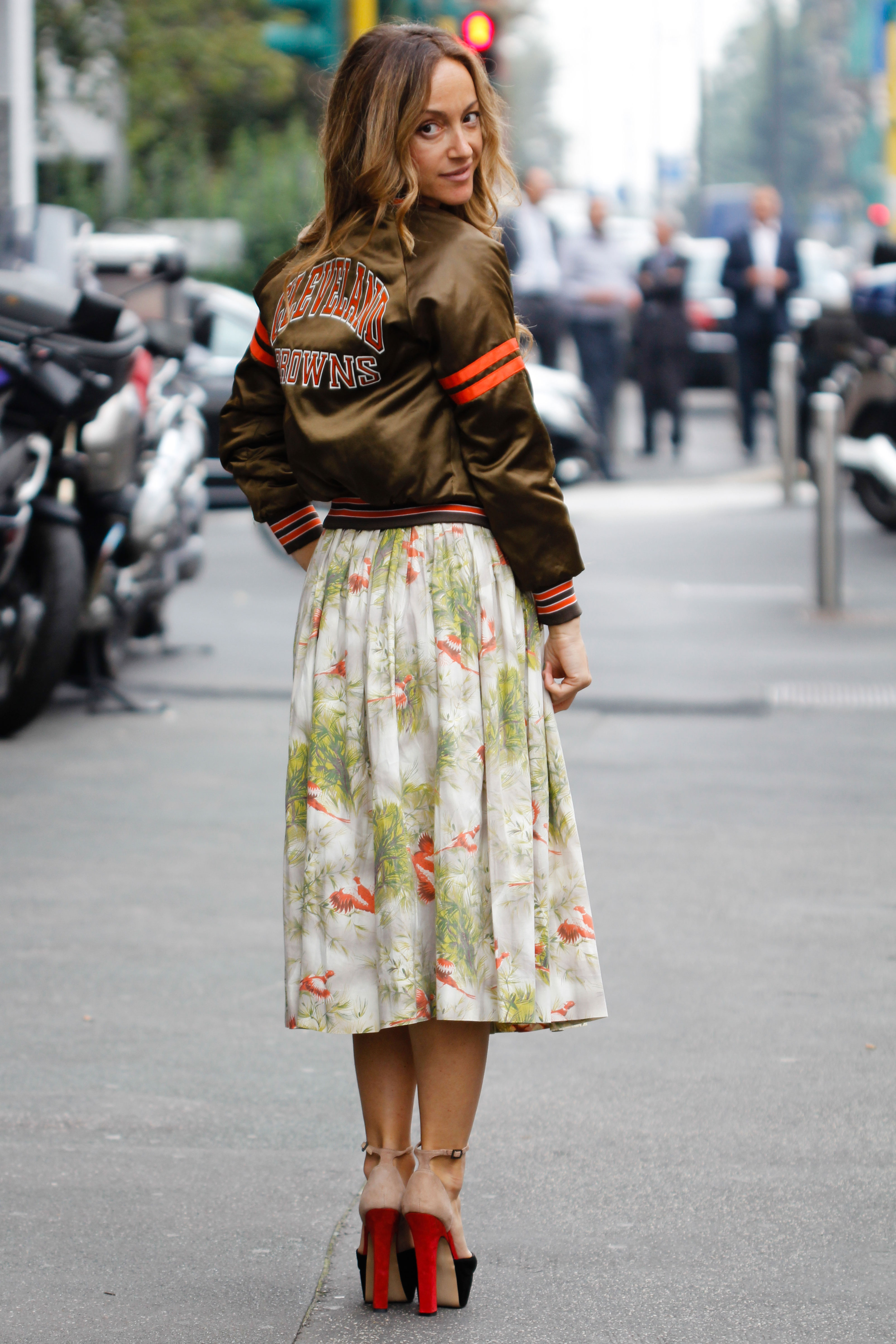 Street style florals