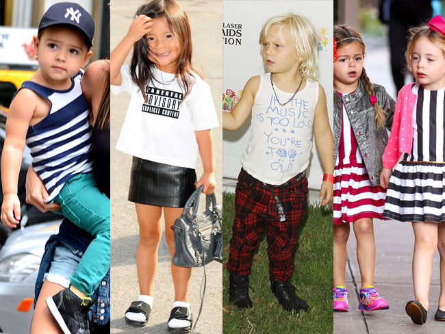 These celebrity kids are already cooler than you