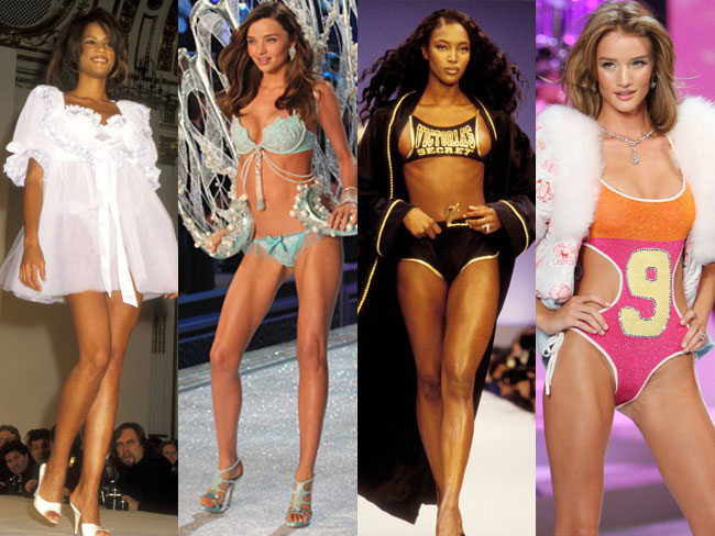 Victoria's Secret - then and now