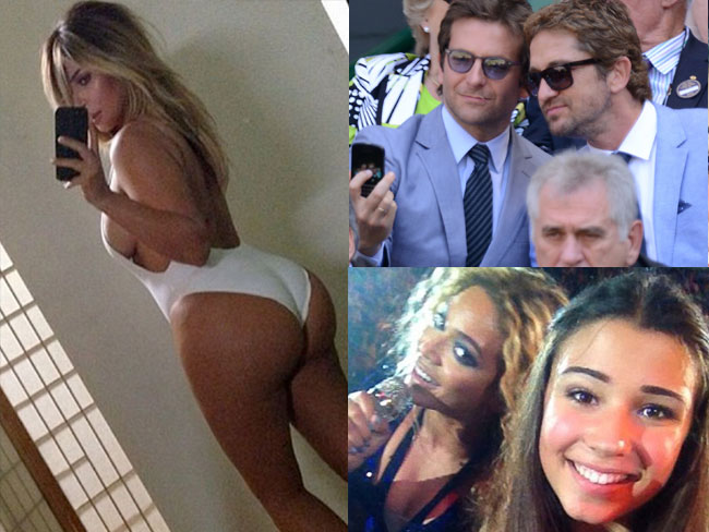 Best celebrity selfies of 2013