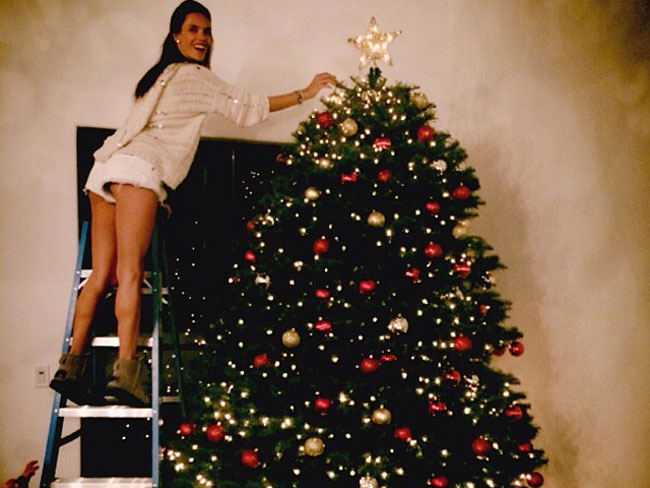 Best celebrity Christmas trees