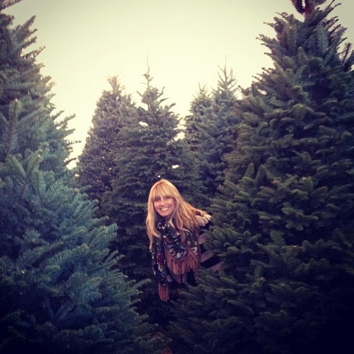 Best celebrity Christmas trees 2013