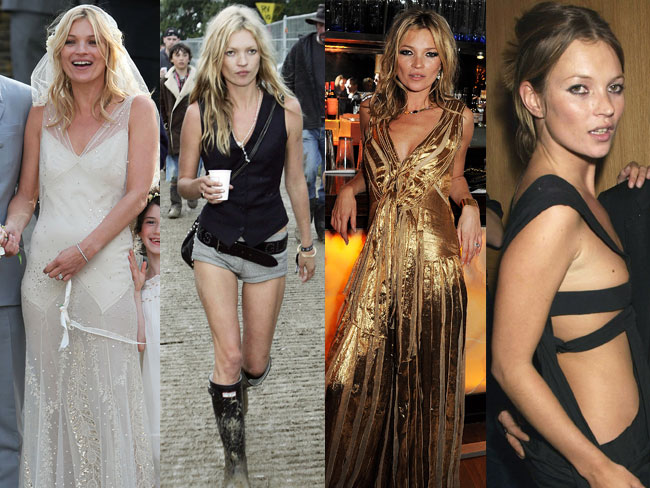 Kate Moss's 40 fiercest fashion moments