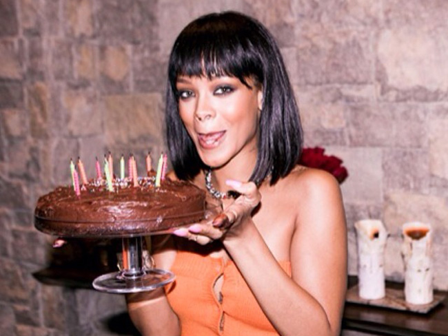 Rihanna turns 26