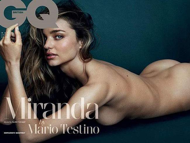Miranda Kerr's racy GQ shoot