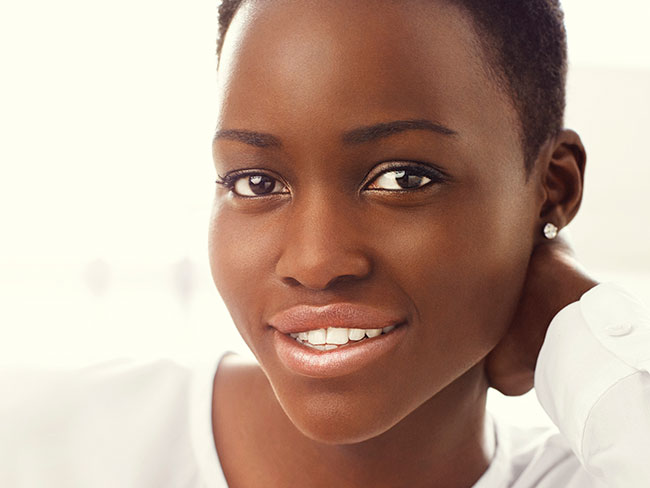 Lupita is the face of Lancôme!