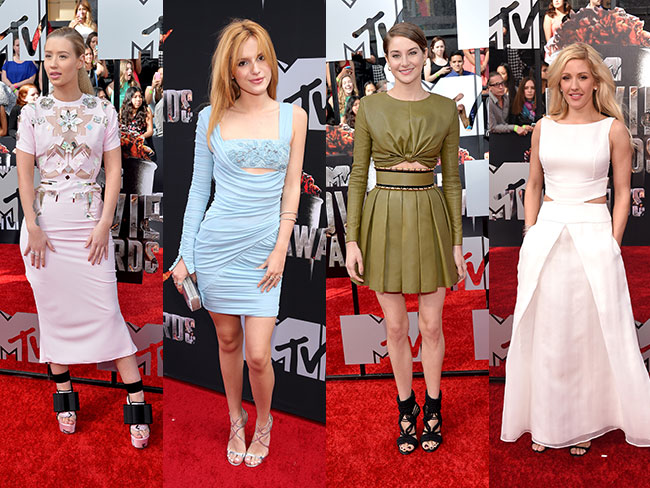 MTV Movie Awards fash-watch