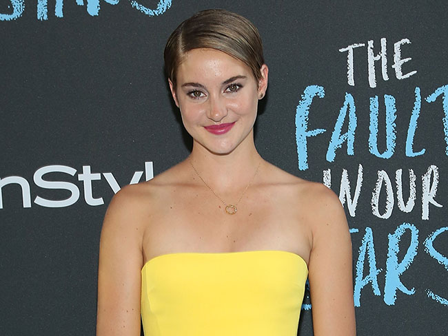 Shailene finds sex scenes hilarious