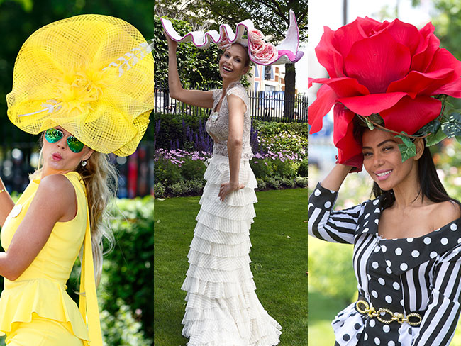 Royal Ascot crimes against hats