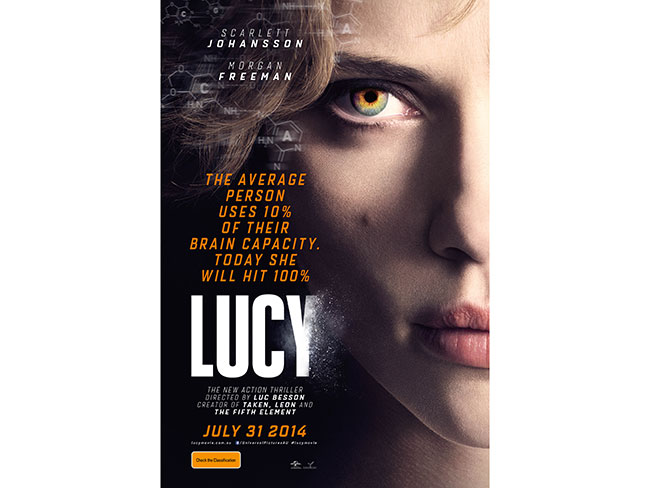 Win a double pass to the Lucy preview!