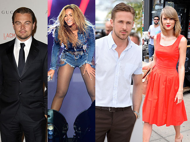 Most charitable celebs