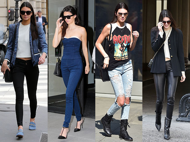 Kendall's off-duty style