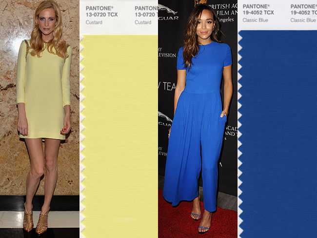 The colours you'll be wearing in 2015