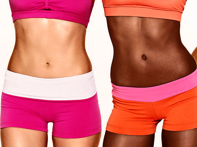 The toned tummy workout