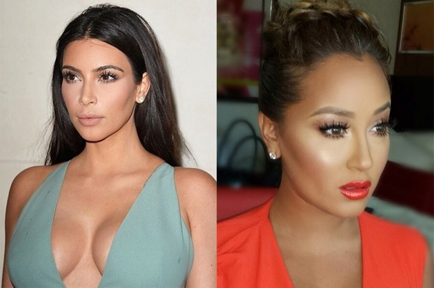 Kim Kardashian lashes back at Adrienne Bailon